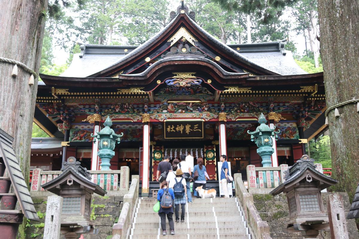神社 コロナ 三峰